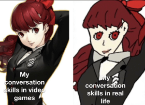 The quarantine is a great time to slowly waste away while playing persona: The quarantine is a great time to slowly waste away while playing persona