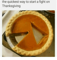 Thanksgiving: the quickest way to start a fight on  Thanksgiving