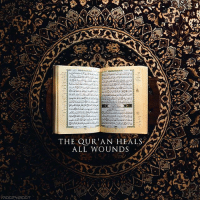 "Memes, Quran, and Mercy: THE QUR'AN HEALS  ALL WOUNDS The Qur'an heals all wounds. ~ ""And We send down of the Qur'an that which is healing and mercy for the believers, but it does not increase the wrongdoers except in loss."" - The Holy Qur'an, Surah Al-Isra:82"