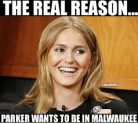 Here's the real reason Jabari Parker wants to go to Milwaukee! #MalloryEdens Credit: Branden Faulkner: THE REAL REASON  MES  PARKER WANTS TO BE IN MALWAUKEE Here's the real reason Jabari Parker wants to go to Milwaukee! #MalloryEdens Credit: Branden Faulkner
