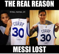 The real reason Messi missed that penalty kick... 😂 nbamemes nba_memes_24: THE REAL REASON  @nba memes 24  30 ARRY  MESSI LOST The real reason Messi missed that penalty kick... 😂 nbamemes nba_memes_24