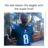 Basketball, Philadelphia Eagles, and Nba: the real reason the eagles won  the super bowl  @THENBANEVERSTOPS You can thank @kobebryant, Eagles fans!!! - - Tags: #nba #basketball #nfl #superbowl #eagles #philadelphia