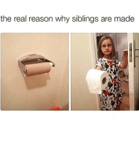 Funny, Life, and Shit: the real reason why siblings are made You saved my life🙏🏻 now get outta here you little shit😊 nationalsiblingday was yesterday but whatevs👯
