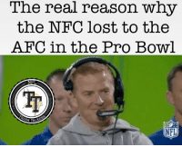You'd think after the Cowboys losing to the Packers In the divisional round this man would have learned a thing or two about coaching... I guess not 🤣🤣 #TheHitman22: The real reason why  the NFC lost to the  AFC in the Pro Bowl  NFL  ASH TALKS  NFL You'd think after the Cowboys losing to the Packers In the divisional round this man would have learned a thing or two about coaching... I guess not 🤣🤣 #TheHitman22