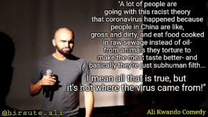 The real virus is misinformation: The real virus is misinformation
