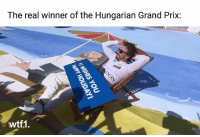 Follow @wtf1official for all the best Formula 1 content! . . f1 formula1 fernandoalonso mclarenf1 wtf1 carthrottle carmemes carsofinstagram carswithoutlimits cargram blacklist racecar: The real winner of the Hungarian Grand Prix:  wtf1. Follow @wtf1official for all the best Formula 1 content! . . f1 formula1 fernandoalonso mclarenf1 wtf1 carthrottle carmemes carsofinstagram carswithoutlimits cargram blacklist racecar