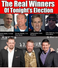 navy seal: The Real Winners  Of Tonight's Election  Sean Smith, U.S.Air Tyrone Woods, U.S.  Ambassador Chris  Glen Doherty, U.S  Force  Navy SEAL  Stephens  Navy SEAL  THE SECRET SOLI  SOLDIERS  U R  3  OF BENGHA  THE SECR