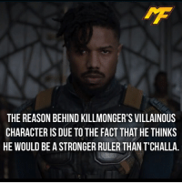 |- The last credit scene on spider-man homecoming made me so mad -| - - - - marvel marveluniverse dccomics marvelcomics dc comics hero superhero villain xmen spidermanhomecoming xmenapocalypse mu mcu doctorstrange spiderman deadpool meme captainamerica ironman teamcap teamstark teamironman civilwar captainamericacivilwar marvelfact marvelfacts fact facts homecoming: THE REASON BEHIND KILLMONGER'S VILLAINOUS  CHARACTER IS DUE TO THE FACT THAT HE THINKS  HE WOULD BE A STRONGER RULER THAN TCHALLA |- The last credit scene on spider-man homecoming made me so mad -| - - - - marvel marveluniverse dccomics marvelcomics dc comics hero superhero villain xmen spidermanhomecoming xmenapocalypse mu mcu doctorstrange spiderman deadpool meme captainamerica ironman teamcap teamstark teamironman civilwar captainamericacivilwar marvelfact marvelfacts fact facts homecoming