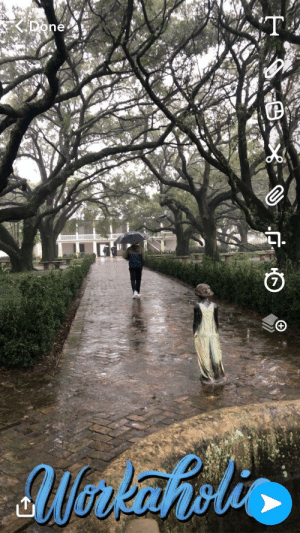 The recommended Snapchat filter while taking a plantation tour in Louisiana: The recommended Snapchat filter while taking a plantation tour in Louisiana