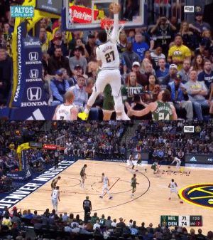 The REFS called an offensive foul on Jamal Murray's poster dunk!?!  https://t.co/lRxMLQ60p8: The REFS called an offensive foul on Jamal Murray's poster dunk!?!  https://t.co/lRxMLQ60p8