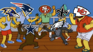 The rest of the NFL watching the Eagles and Cowboys battle it out for the NFC East https://t.co/QmH7W9NShk: The rest of the NFL watching the Eagles and Cowboys battle it out for the NFC East https://t.co/QmH7W9NShk