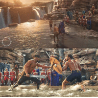 The ritual combat scenes in BLACK PANTHER were amazing.  (Andrew Gifford): The ritual combat scenes in BLACK PANTHER were amazing.  (Andrew Gifford)
