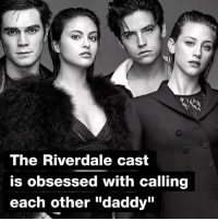 """Special Father's Day shoutout to all the Riverdaddies of Riverdale 💖: The Riverdale cast  is obsessed with calling  each other """"daddy"""" Special Father's Day shoutout to all the Riverdaddies of Riverdale 💖"""