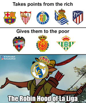 The Robin Hood of La Liga https://t.co/bxrvG6eH4R: The Robin Hood of La Liga https://t.co/bxrvG6eH4R