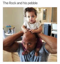 @ship is easily the cutest page on Instagram: The Rock and his pebble @ship is easily the cutest page on Instagram