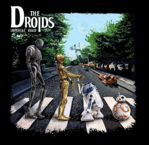 Star Wars | Droids | The Beatles: THE  ROIDS  IMPERIAL ROAD Star Wars | Droids | The Beatles