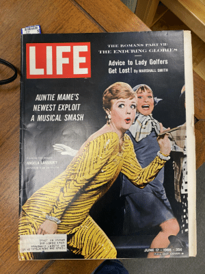 "I know things aren't perfect for women in America, but if you ever wonder if we've made *some* progress, check out this 1966 LIFE Magazine cover feature: ""Advice to Lady Golfers – Get Lost!"": THE ROMANS PART VII:  LIFE  THE ENDURING GLORIES  Advice to Lady Golfers  Get Lost! By MARSHALL SMITH  AUNTIE MAME'S  NEWEST EXPLOIT  A MUSICAL SMASH  Flicking her stogie,  ANGELA LANSBURY  whoops it up as Mame  BRONX NY 10465  2,863 DEWEY AVE  MR ALBERT ZIMMERMAN  59 0 T5756 VE 98'Ma WWZ 8  1966 35¢  JUNE 17  PULL OUT COVER-  .95 I know things aren't perfect for women in America, but if you ever wonder if we've made *some* progress, check out this 1966 LIFE Magazine cover feature: ""Advice to Lady Golfers – Get Lost!"""