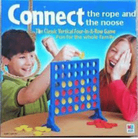"<p>i made this before the normies took over via /r/dank_meme <a href=""http://ift.tt/2GpPCfq"">http://ift.tt/2GpPCfq</a></p>: the rope an  the noose  The Cassic Vertical Four-in-A-Row Game  un for the whole fam <p>i made this before the normies took over via /r/dank_meme <a href=""http://ift.tt/2GpPCfq"">http://ift.tt/2GpPCfq</a></p>"