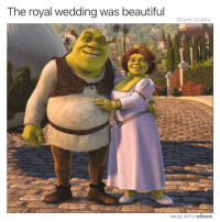 Beautiful, Funny, and Netflix: The royal wedding was beautiful  @tank.sinatra  MADE WITH MOMUS Congrats 😍😍😍 (it's raining go watch 10 hours of @netflix)