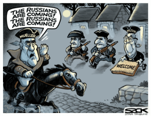 """Star, Moscow, and Russians: THE RUSSIANS  ARE COMING  THE RUSSIANS  ARE COMING  MITCH  MUELLER  WELCOME  STAR TRIBUNE Moscow Mitch: """"Welcome!"""""""