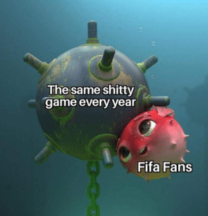 Follow 8Gaming for more gaming memes: The same shitty  game every year  Fifa Fans Follow 8Gaming for more gaming memes