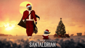 Coming to Disney+ this Christmas…: THE  SANTALORIAN Coming to Disney+ this Christmas…