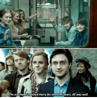 Harry Potter, Memes, and 🤖: The scar hadn't pained Harry for nineteen years. All was well. Who's your favourite Harry Potter character?