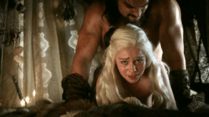 The scene of Daenerys getting raped was actually foreshowing of how D&D were going to rape the show.: The scene of Daenerys getting raped was actually foreshowing of how D&D were going to rape the show.
