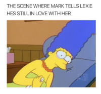 Love, Memes, and 🤖: THE SCENE WHERE MARK TELLS LEXIE  HES STILL IN LOVE WITH HER Still hurts me to this day 😢 #GreysAnatomy https://t.co/oLUuzbnoX4