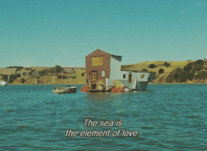 Love, Element, and  Sea: The sea is  element of love