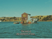 Love, Element, and  Sea: The sea is  the element of love