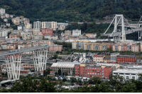 Memes, Link, and Reuters: The search for survivors following the Morandi Bridge collapse in the Italian port city of Genoa stretched into its second day as emergency crews worked through the night. Tap the link in our bio to get the latest updates on the rescue mission. REUTERS-Stefano Rellandin. genoa italy bridge collapse bbcnews