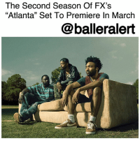 "The Second Season Of FX's ""Atlanta"" Set To Premiere In March - blogged by @MsJennyb ⠀⠀⠀⠀⠀⠀⠀ ⠀⠀⠀⠀⠀⠀⠀ Just one year after DonaldGlover won a Golden Globe for his performance in FX's hit series, ""Atlanta,"" the network has finally announced the premiere date for the forthcoming season. ⠀⠀⠀⠀⠀⠀⠀ ⠀⠀⠀⠀⠀⠀⠀ According to Variety, the highly anticipated second season of ""Atlanta,"" which will now be titled ""Atlanta Robbin' Season"" will premiere March 1 at 10 p.m. ⠀⠀⠀⠀⠀⠀⠀ ⠀⠀⠀⠀⠀⠀⠀ The new season will follow a similar storyline to the first season, as two cousins navigate through the music scene to better themselves financially. After winning two Emmys, two Golden Globes and other accolades, the second season is expected to piggyback on the success of the first.: The Second Season Of FX's  ""Atlanta"" Set To Premiere In March  @balleralert The Second Season Of FX's ""Atlanta"" Set To Premiere In March - blogged by @MsJennyb ⠀⠀⠀⠀⠀⠀⠀ ⠀⠀⠀⠀⠀⠀⠀ Just one year after DonaldGlover won a Golden Globe for his performance in FX's hit series, ""Atlanta,"" the network has finally announced the premiere date for the forthcoming season. ⠀⠀⠀⠀⠀⠀⠀ ⠀⠀⠀⠀⠀⠀⠀ According to Variety, the highly anticipated second season of ""Atlanta,"" which will now be titled ""Atlanta Robbin' Season"" will premiere March 1 at 10 p.m. ⠀⠀⠀⠀⠀⠀⠀ ⠀⠀⠀⠀⠀⠀⠀ The new season will follow a similar storyline to the first season, as two cousins navigate through the music scene to better themselves financially. After winning two Emmys, two Golden Globes and other accolades, the second season is expected to piggyback on the success of the first."