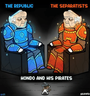 scifiseries:  This effort is no longer profitable!: THE SEPARATISTS  THE REPUBLIC  SOLIDSNARK  HONDO AND HIS PIRATES  SRGRAFO  scifiseries:  This effort is no longer profitable!