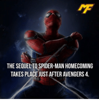 |- Follow @marvelfact.ig for more! -|: THE SEQUEL TO SPIDER-MAN HOMECOMING  TAKES PLACE JUST AFTER AVENGERS4 |- Follow @marvelfact.ig for more! -|