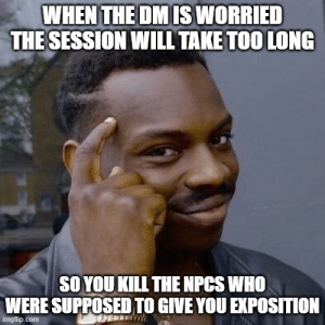 The session was running long, the NPCs detected as evil, and the cleric was zealous and paranoid: The session was running long, the NPCs detected as evil, and the cleric was zealous and paranoid