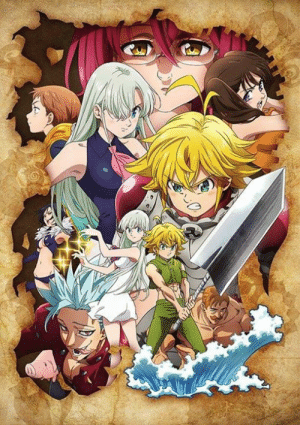 "Anime, Dank, and Fall: The Seven Deadly Sins Gets New Anime Series in Fall 2019!  - The new anime series will be titled ""The Seven Deadly Sins: Wrath of the Gods."" HP: https://www.7-taizai.net/"