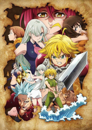 """The Seven Deadly Sins: Wrath of the Gods"" (Season 3) - Teaser Visual!! The anime is slated to premiere on Fall 2019. Studio Deen is animating the series.: ""The Seven Deadly Sins: Wrath of the Gods"" (Season 3) - Teaser Visual!! The anime is slated to premiere on Fall 2019. Studio Deen is animating the series."