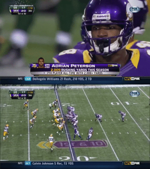 The seventh player ever to rush for 2K yards did it one year after tearing his ACL & MCL.  Watch the game 2010s All-Decade RB @AdrianPeterson made history with NFL Game Pass: https://t.co/3yQtk4LcnE https://t.co/346tKgnjlR: The seventh player ever to rush for 2K yards did it one year after tearing his ACL & MCL.  Watch the game 2010s All-Decade RB @AdrianPeterson made history with NFL Game Pass: https://t.co/3yQtk4LcnE https://t.co/346tKgnjlR