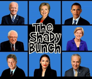 Politicians, All, and Right: The  ShaDy  Bunch Nothing at all shady about some Politicians the right agrees with