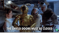 Reddit, The Shield, and Shield: THE SHIELD DOORS MUST BE CLOSED When a chipmunk runs in your garage during a downpour and then you leave the door open for a few hours after and then it's 3:00am.