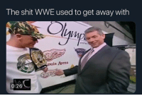 Funny, John Cena, and Shit: The shit WWE used to get away with  Vt  entei  uis Arena  0:26 John Cena has the N word pass