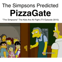 """The Simpsons Predicted  PizzaGate  """"The Simpsons"""" The Kids Are All Fight (TV Episode 2015)  O SeekTheTruthJapan PizzaGate Simpsons predictions PredictiveProgramming FalseFlags Nwo FakeNews TruthInPlainSight Wtf SeekTheTruthJapan"""