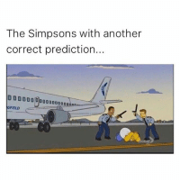 The Simpsons with another  correct prediction...  00000000  GFIELD  lobal Simpsons is w👁ke