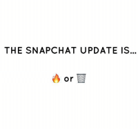 What do y'all think of the new Snapchat update 👀🤔 WSHH: THE SNAPCHAT UPDATE IS.  or What do y'all think of the new Snapchat update 👀🤔 WSHH
