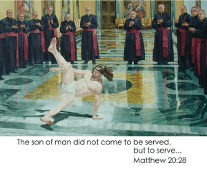 Christmas Meme Special | Geeks with a computer: The son of man did not come to be served  but to serve...  Matthew 20:28 Christmas Meme Special | Geeks with a computer