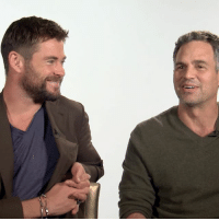 The stars of Thor Ragnarok @ChrisHemsworth, @MarkRuffalo & @jeffgoldblum talk pints, being heroes and the modern day gent. Head to LADbible.com for the full video.: The stars of Thor Ragnarok @ChrisHemsworth, @MarkRuffalo & @jeffgoldblum talk pints, being heroes and the modern day gent. Head to LADbible.com for the full video.