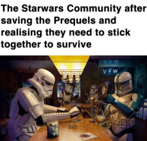 A family that trilogies together stays together: The Starwars Community after  saving the Prequels and  realising they need to stick  together to survive  VEW  FCLUB A family that trilogies together stays together
