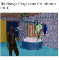 Memes, 🤖, and Door Locks: The Strange Things About The Johnsons  (2011)  -You know  feel doors  locked I WATCHED IT 2 HOURS AGO HAHAHAH ITS PRETTY NICE I NEED A SEQUEL