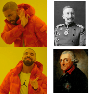 The superior king of Prussia: The superior king of Prussia